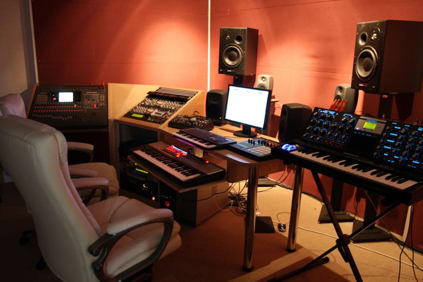 sound recording studio Chichester, West Sussex & Hampshire