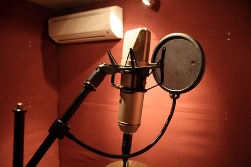 Recording microphone - Midi Madness Studio, Chichester