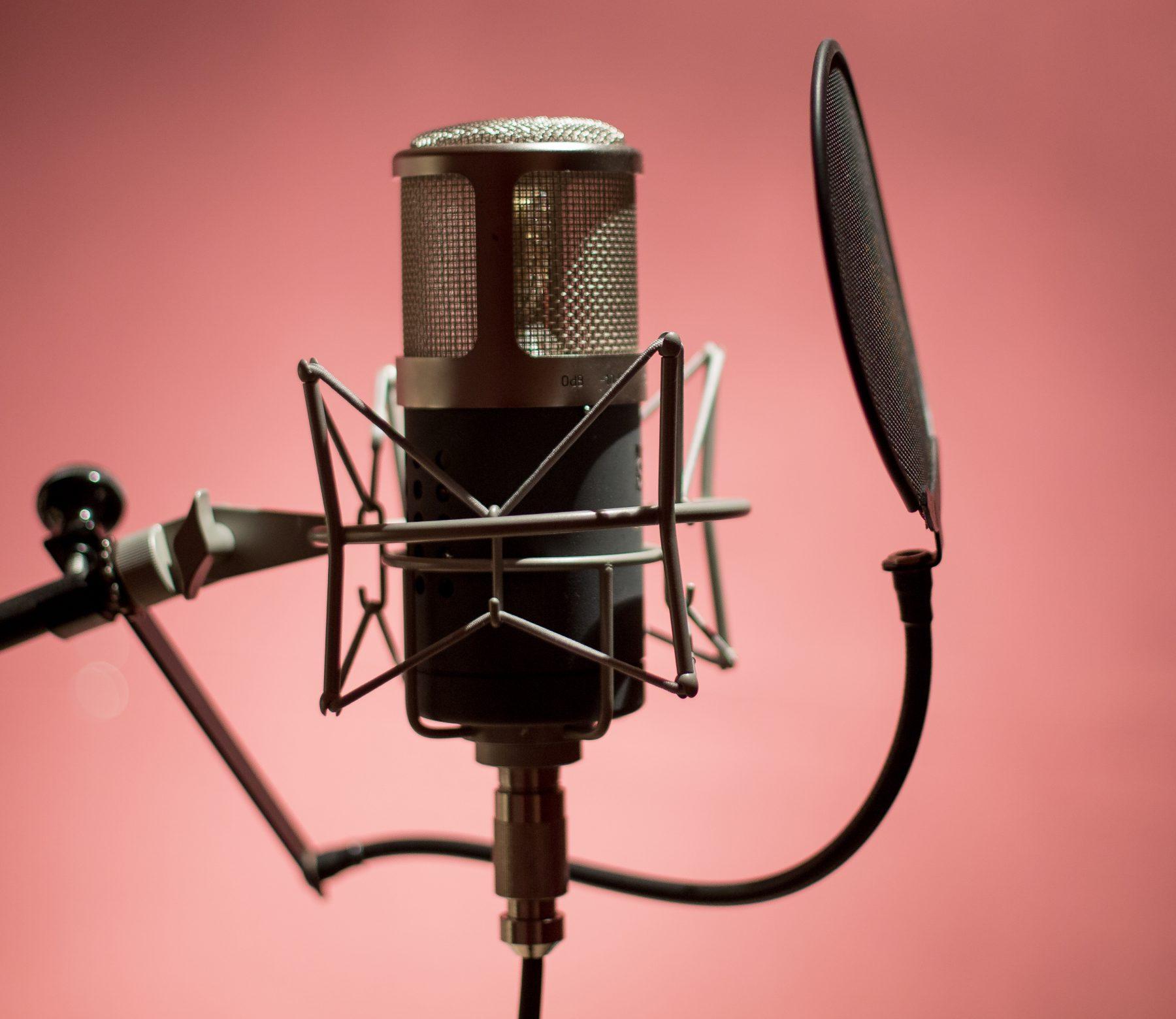 Midi Madness recording studios Chichester - microphone image